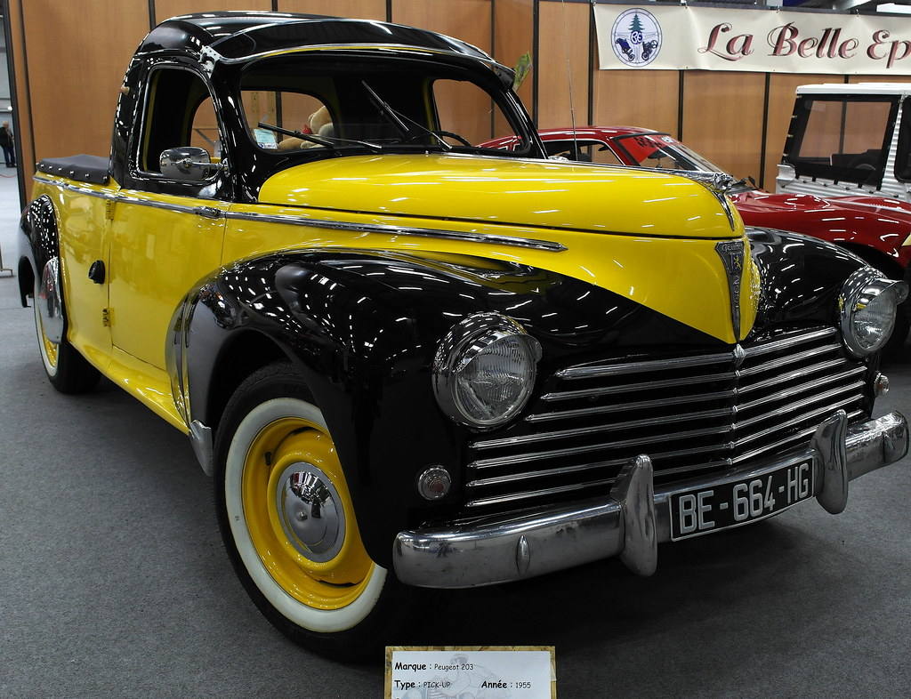 peugeot 203 pick up peugeot 203 appeared in 1948 is a flickr. Black Bedroom Furniture Sets. Home Design Ideas