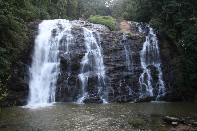 Abbey Falls Madikeri In Coorg Karnataka India Beautiful To Flickr