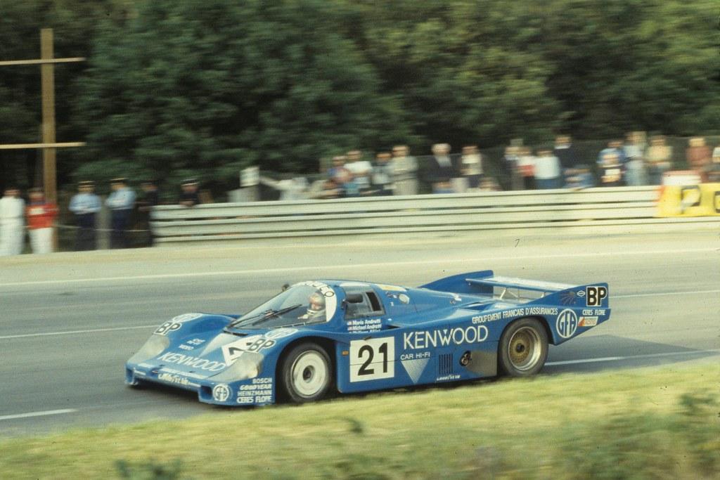Porsche 956 le mans 1983 mario andretti at the wheel - Le fenetrier le mans ...