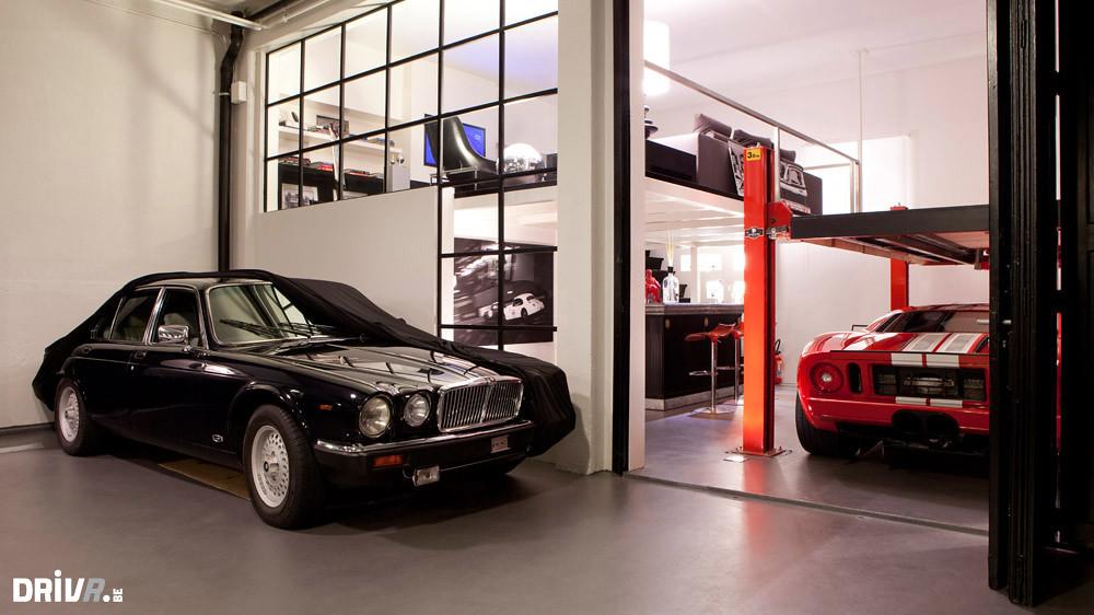 jaguar dream garage including ford gt credit jeroen pee flickr. Black Bedroom Furniture Sets. Home Design Ideas