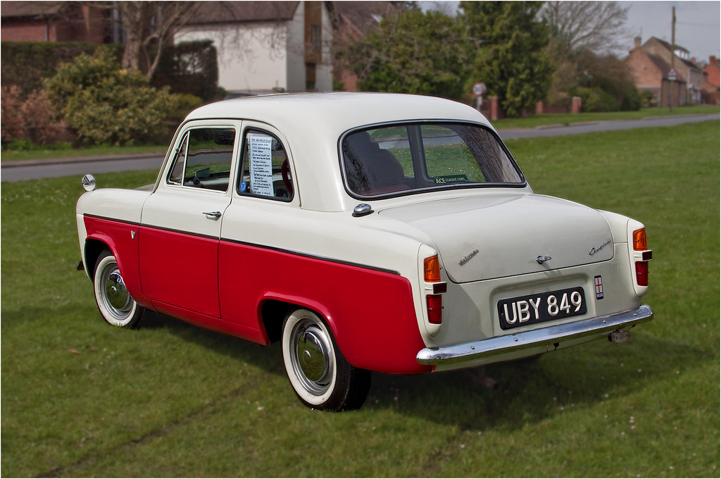 Ford Anglia Model Car