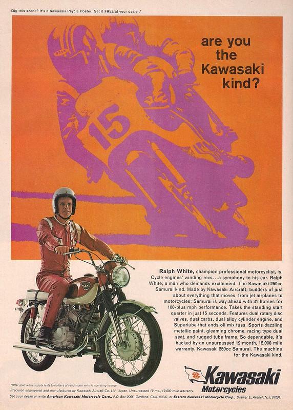 Ralph White Kawasaki