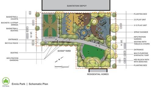 Revised Ennis Playground Plan Gets Community Backing