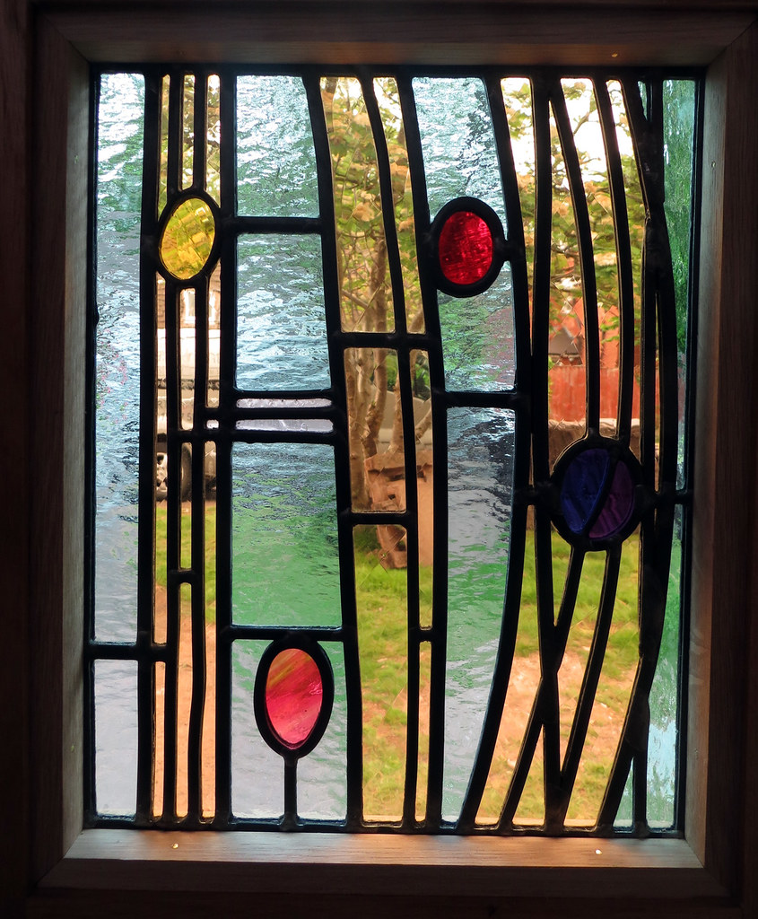 ... Art Noveau Door Panels - detail | by Steven Cartwright Glass Designs  sc 1 st  Flickr & Art Noveau Door Panels - detail | These leaded light side pa\u2026 | Flickr