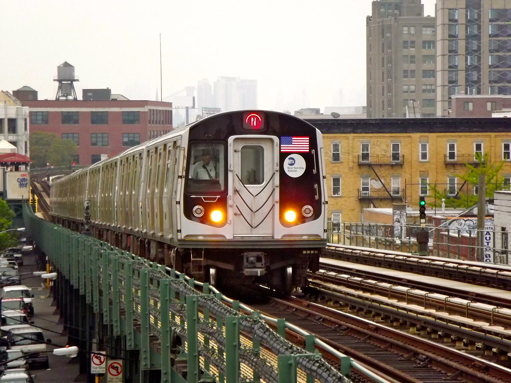 R Train Map New York City