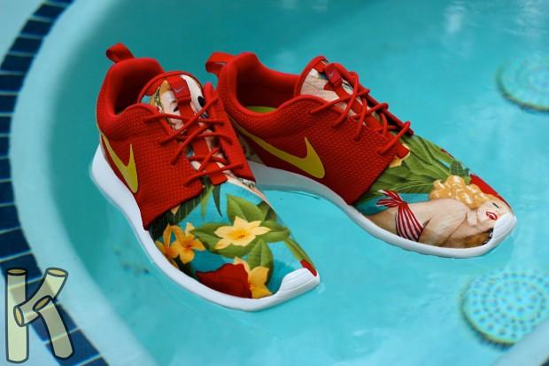 c0be0c825bca ... Nike Roshe Run Island Girl Custom