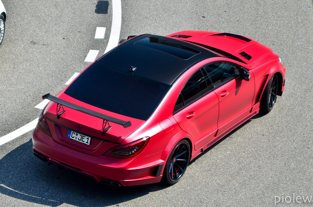 Mercedes Cls 63 Amg With Stealth Gsc Wide Body Kit Flickr
