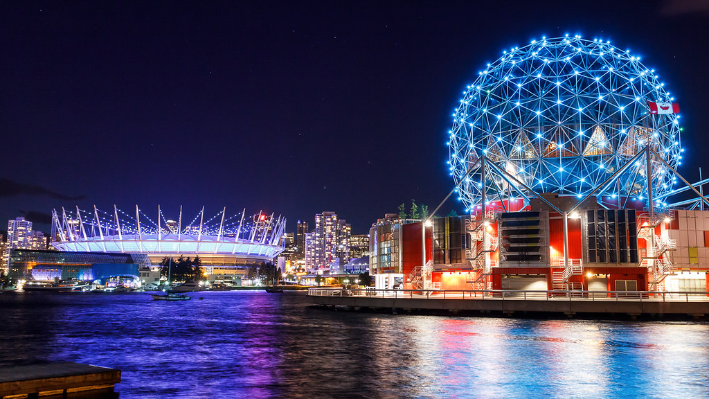BC Place And Telus World Of Science
