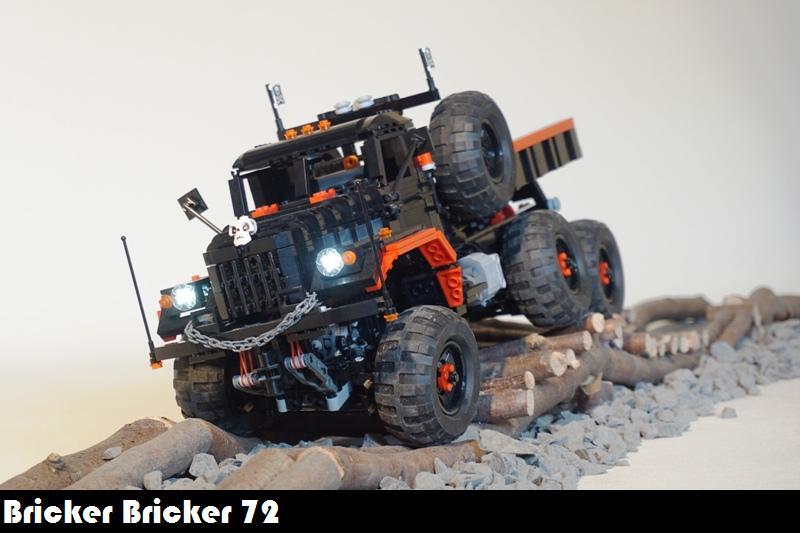 Rc Lego Technic Kraz 255b Trial Truck Truck T14 Controll Flickr