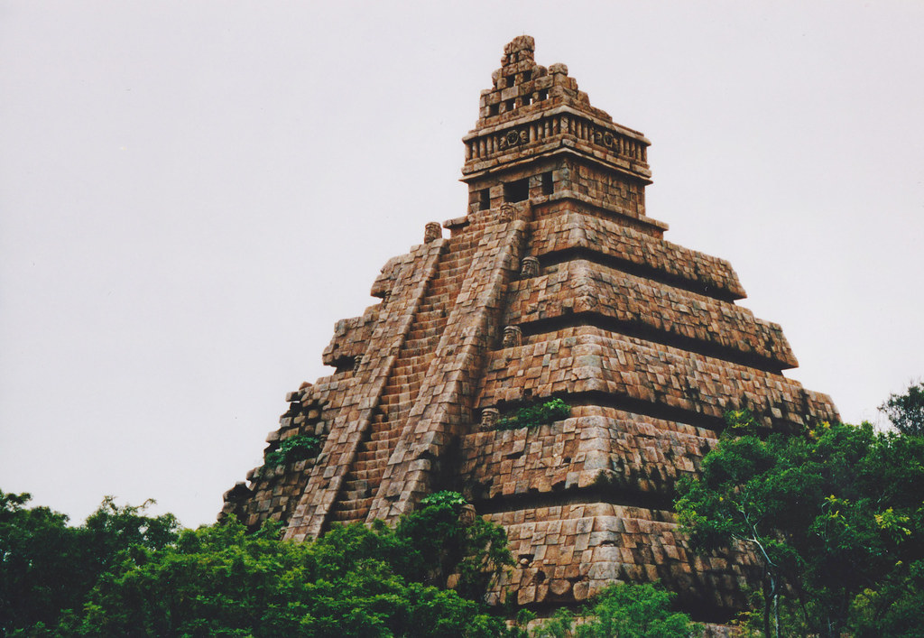 Aztec Temple | The Aztec Temple in the Lost River Delta at ...