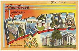 Greetings from Virginia | by Boston Public Library