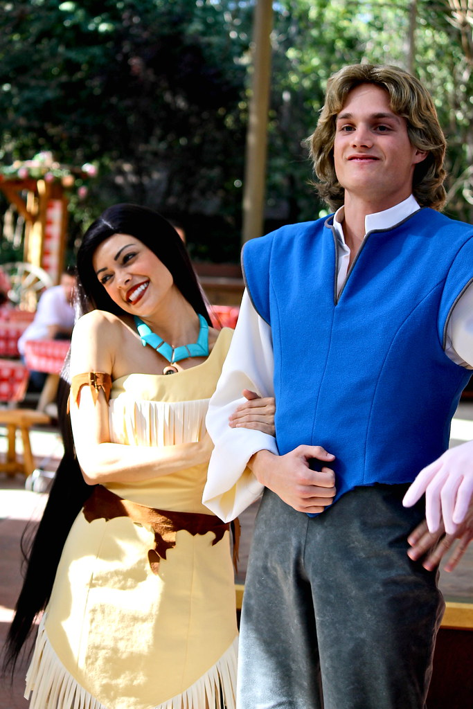 long lost friends week pocahontas and john smith by sillyrach