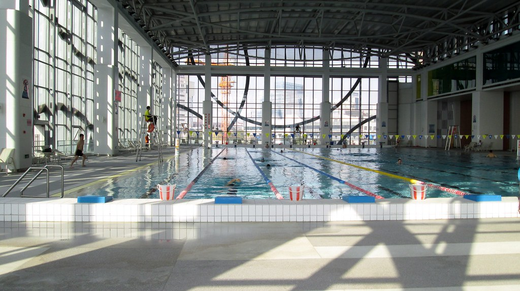 Swimming Pool Kunshan Swimming Pool Zhujiang Road Flickr