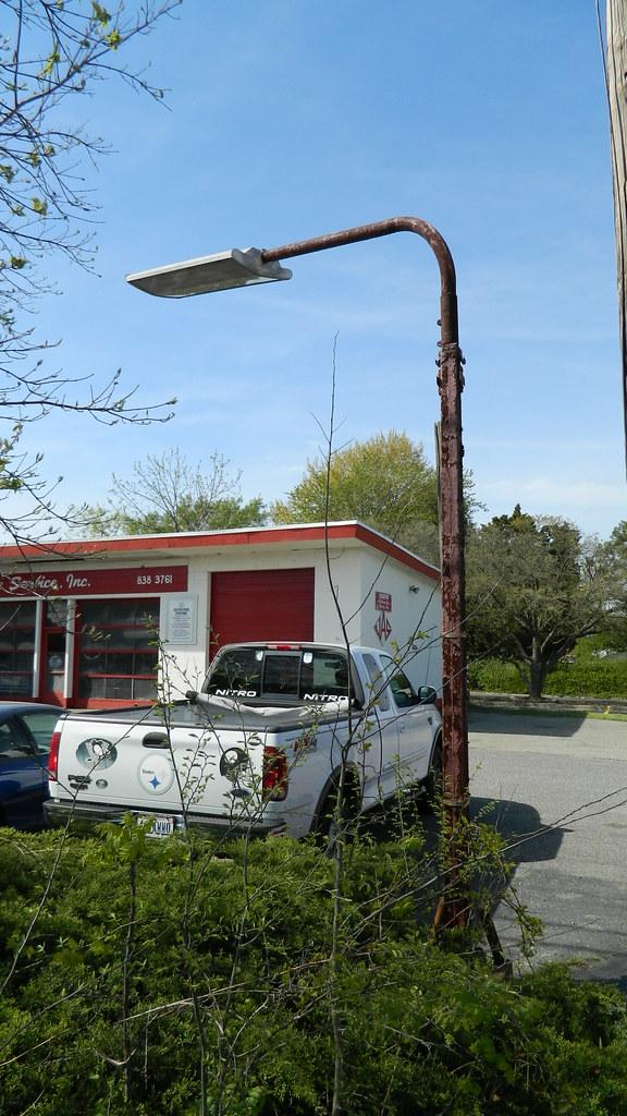 Old Gas Station Light Joseph Auto Service 1 435 Square