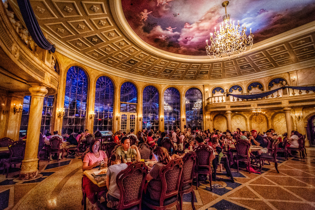 Be Our Guest Restaurant New Fantasyland Magic Kingdom