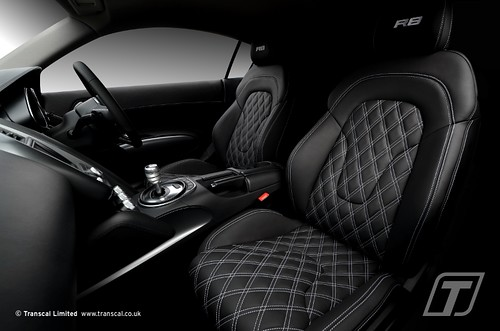 audi r8 custom leather interior 90 transcal ltd flickr. Black Bedroom Furniture Sets. Home Design Ideas