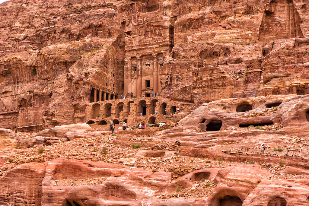 A Grand Petra Structure | A more distant view of the same ...