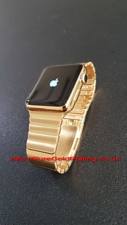 Apple Watch in 18ct Gold Plate | by PureGoldPlating
