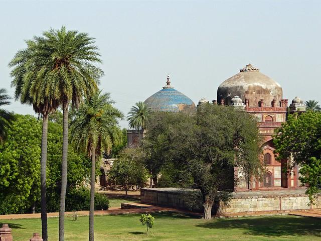 Arredores da Tumba de Humayun (Delhi, Índia)