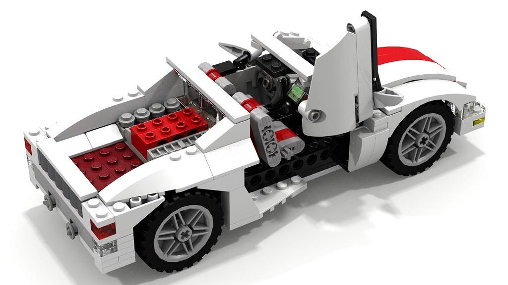 Lego Car Driving
