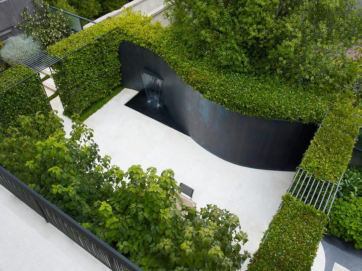 Groene Afscheiding Tuin : Afscheiding tuin great kleine tuin inspiratie tuin groene