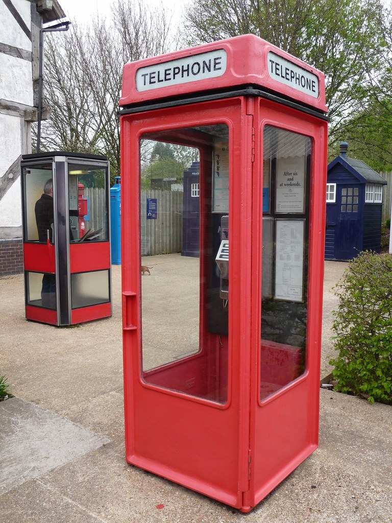 k7 and k8 telephone boxes  avoncroft museum