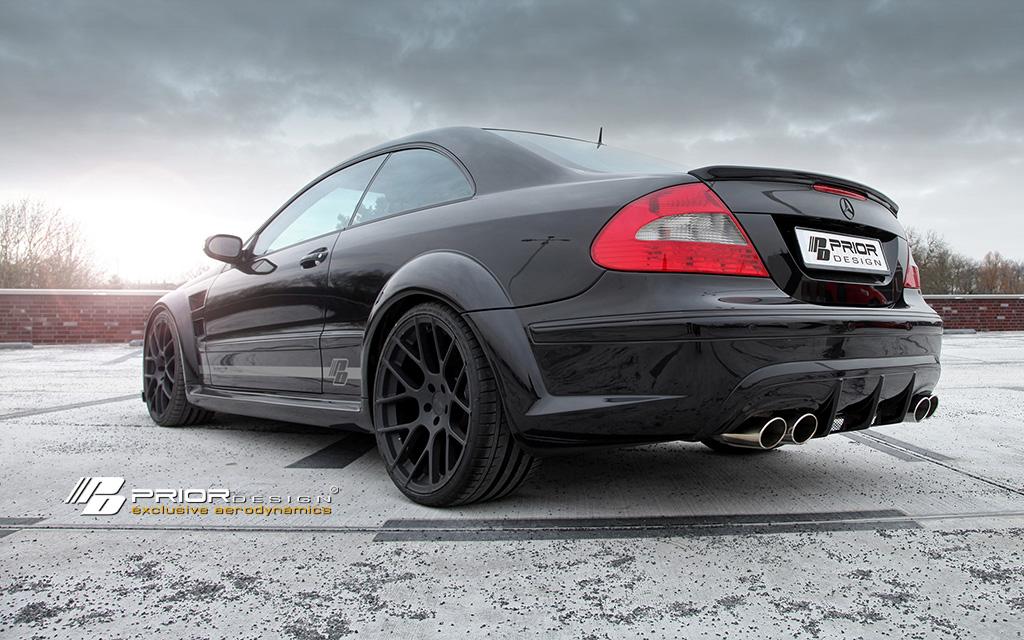 Mercedes clk w209 black series wide body conversion kit for Mercedes benz clk body kit