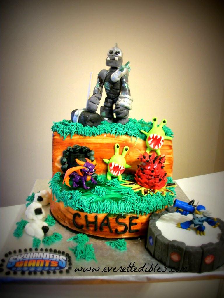 Skylander Birthday Cake Pan