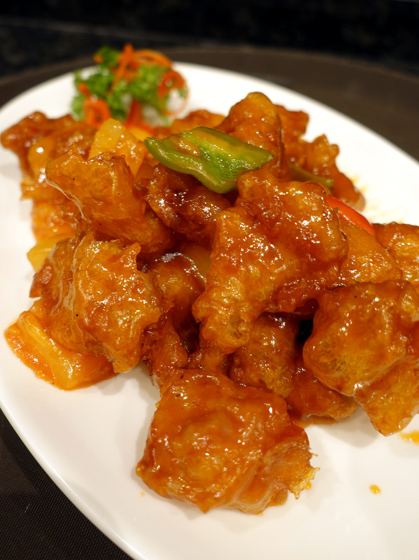 XIU Fine Cantonese Dining Restaurant- Sweet and Sour Pork