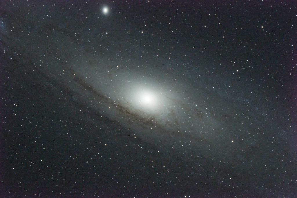 D500 test shot M31 Andromeda Galaxy | Unprocessed and ...