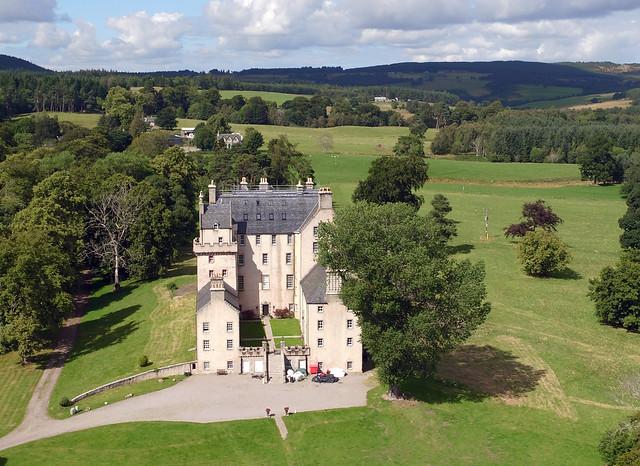 Castle Grant aerial image
