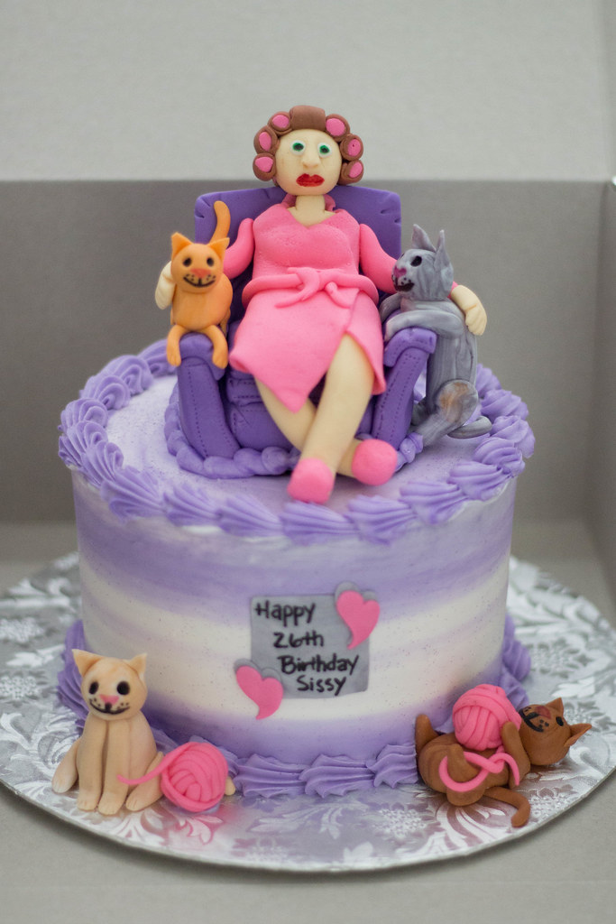 Crazy Cat Lady Cake Grace Ful Cakes Flickr