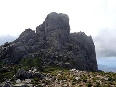 Les deux sommets du Capelllu depuis la crête Nord