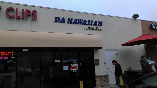 Da Hawaiian Kitchen Huntington Beach Menu