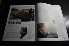 Rahm Photo in a Brazilian Magazine