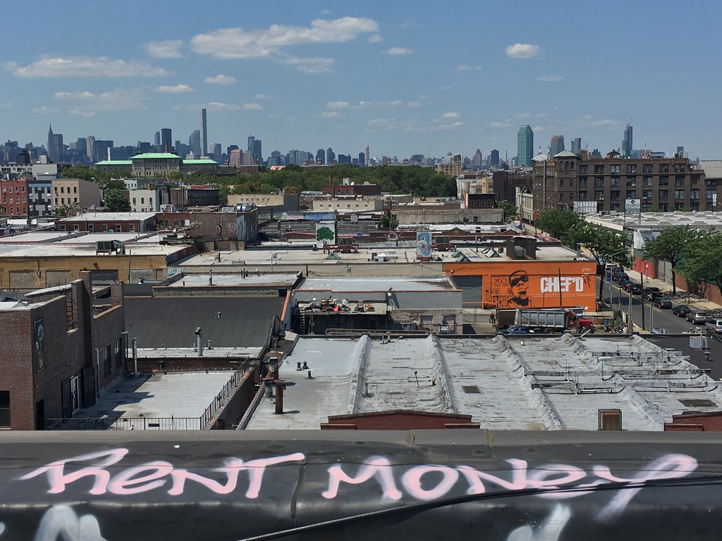 Rent Money 195 Morgan Ave Rooftop Livestream