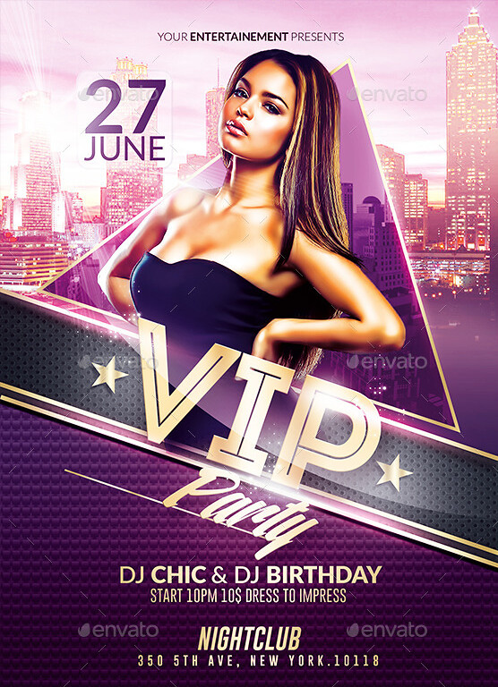 Classy vip party psd flyer template psd flyer templates flickr classy vip party psd flyer template by rome creation maxwellsz
