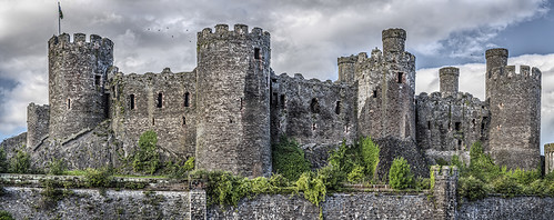 Conwy Castle, Wales | by Mark J Photography