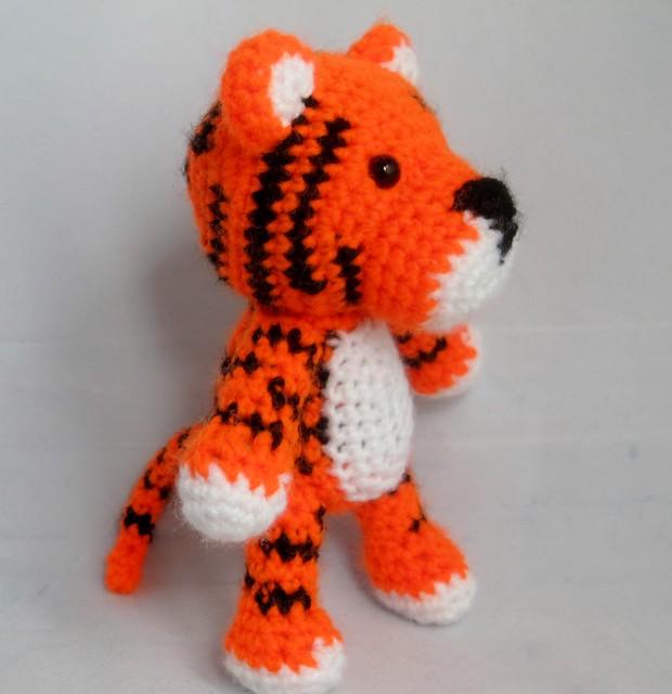 Crochet Pattern For Amigurumi Tiger : Amigurumi tiger Flickr - Photo Sharing!