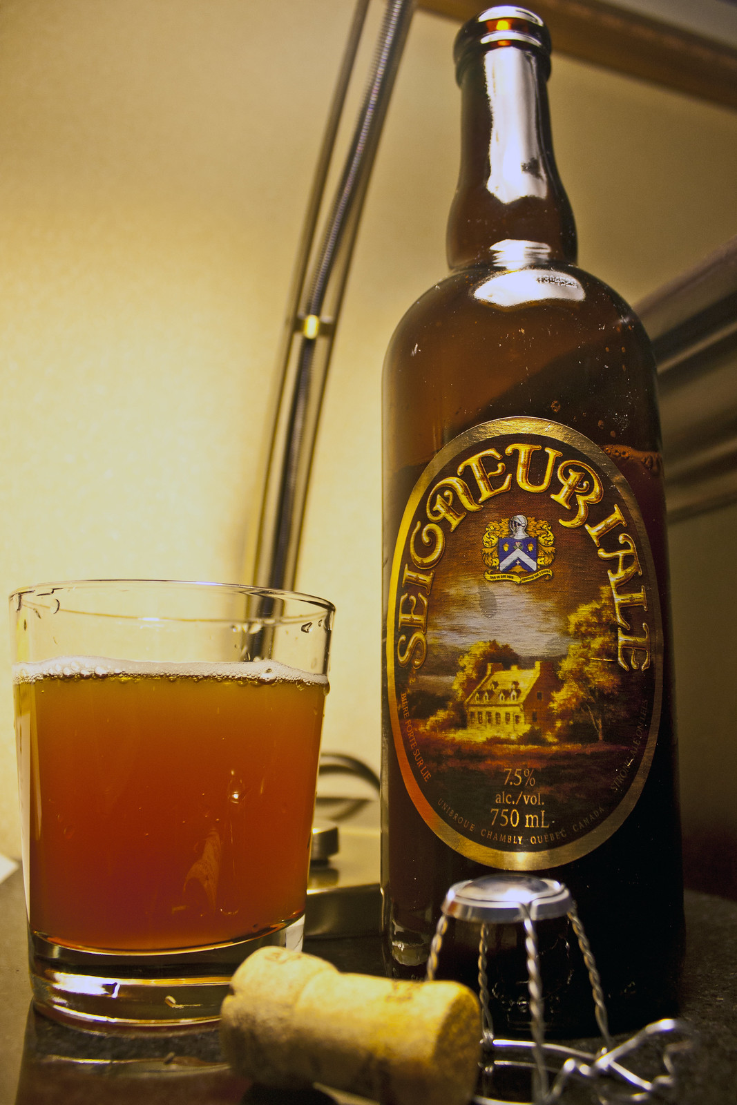 Review: Unibroue Seigneuriale by Cody La Bière