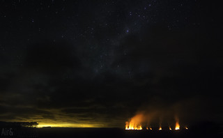 Fires in Foxton | by Astronomr