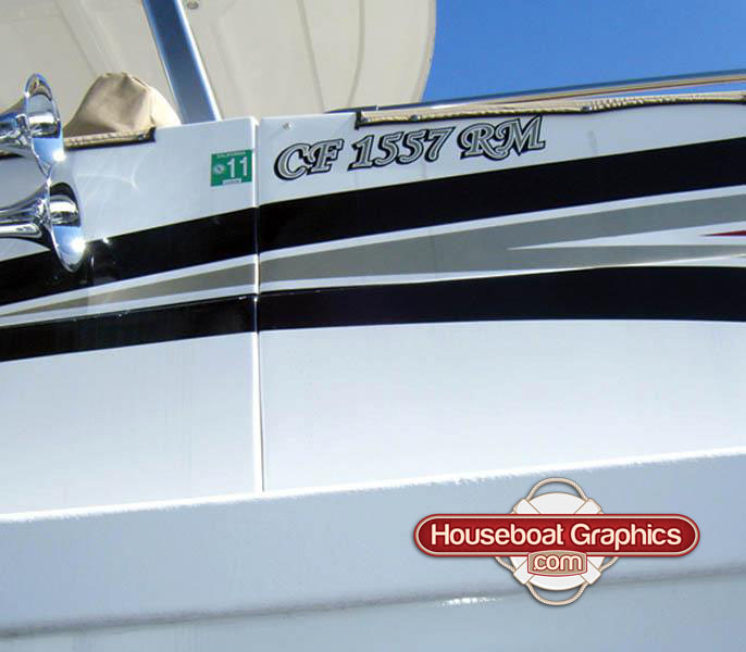 Houseboatgraphicscustomboatregistrationvinyldecals Flickr - Houseboat decals
