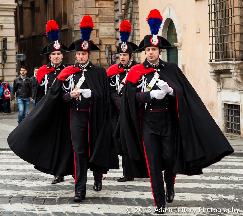 Italian Carabinieri In Formal Uniform Adam Jeffery Flickr