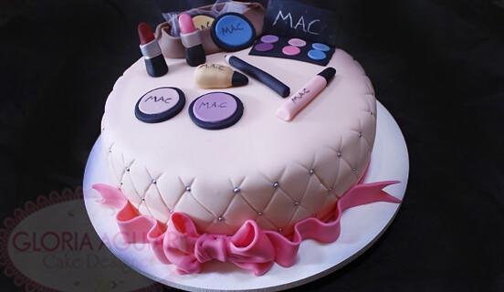 Bolos Cake Design Lisboa : Bolo Maquiagem - Make up Gloria Aguiar Cake Designer ...