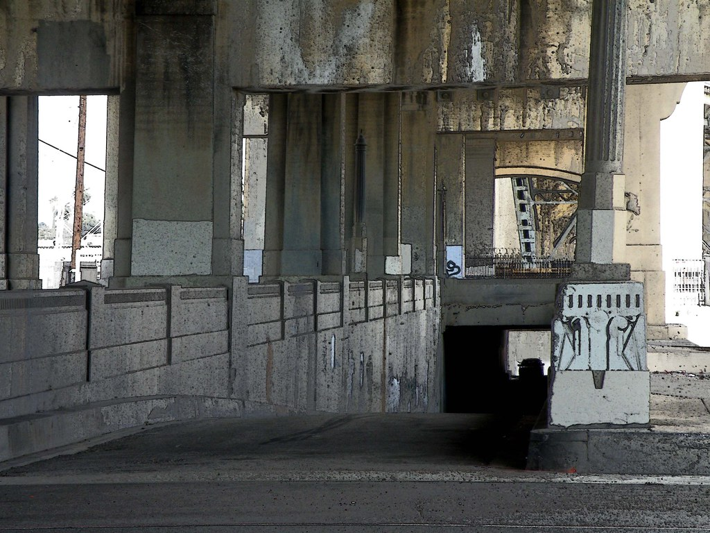 Under the 6th Street bridge | Laurie Avocado | Flickr