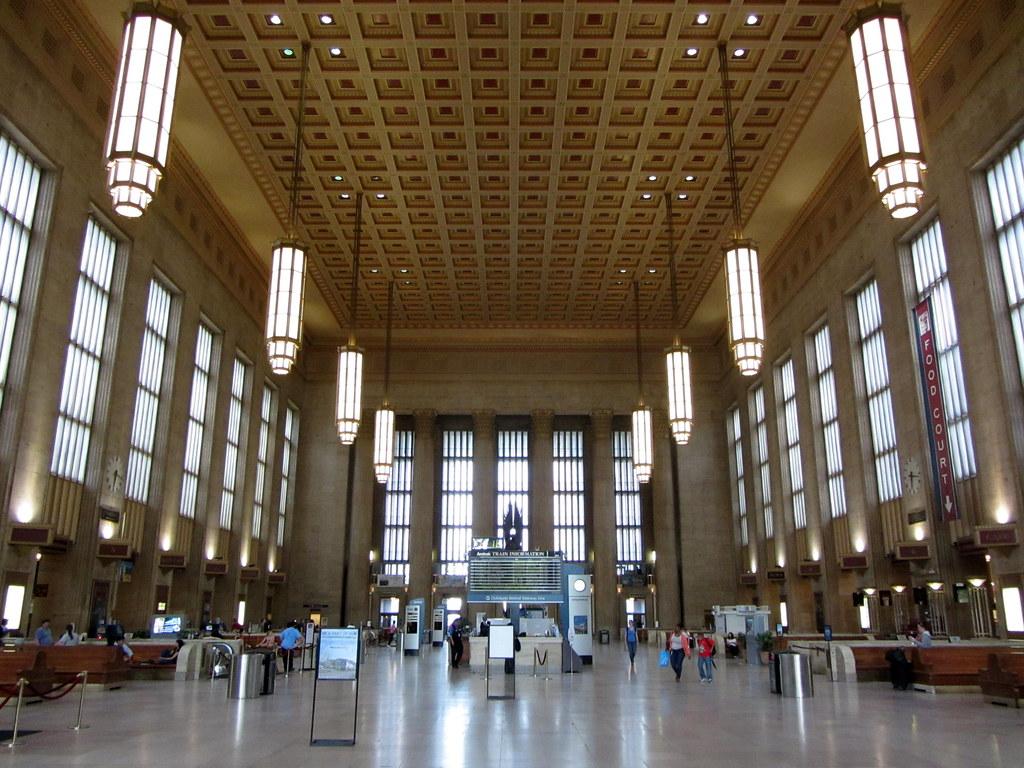 Inside 30th Street Station In Philadelphia 30th Street Sta Flickr