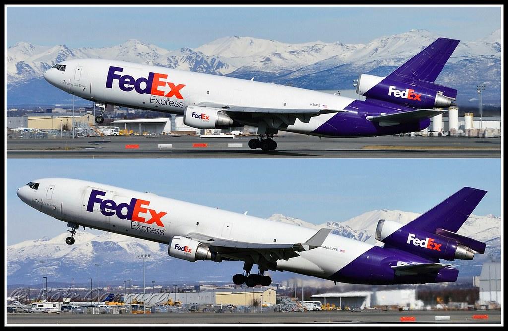 FedEx Express N313FE MD-10 (DC-10) versus N642FE MD-11 | Flickr