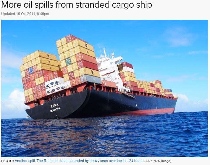 Mike Thinks: How Much Weight Can The Average Freight Ship Carry?