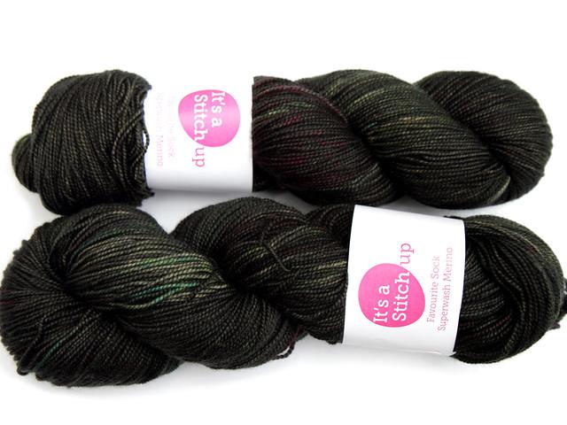 Favourite Sock – hand-dyed superwash merino 4 ply yarn 'Space Dust'