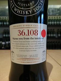 SMWS 36.108 - Warms you from the inside out